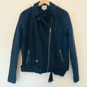 Urban Outfitters Vegan Faux Leather Moto Jacket